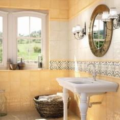 Какую плитку выбрать в маленькую ванную?
