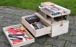 Ящик для инструментов своими руками: 5 способов изготовления