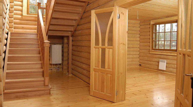 Внутренняя отделка дома из сруба: цены в Москве