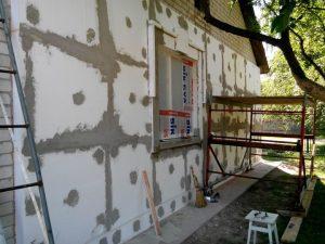 Утепление кирпичного дома снаружи