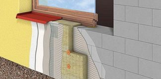 Схема утепления газобетонной стены