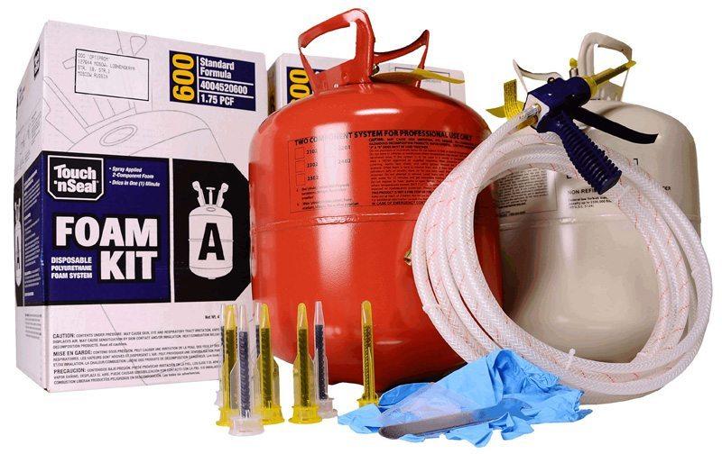 Оборудование для нанесения пены и сам материал