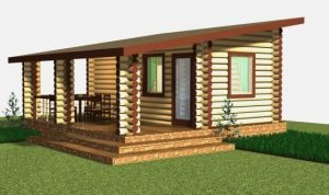 Проект односкатной крыши