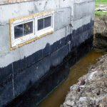 Гидроизоляция подвала от грунтовых вод