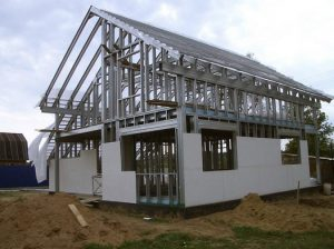 Металло-каркасный дом