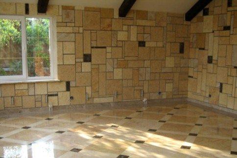 Отделка дома керамической плиткой
