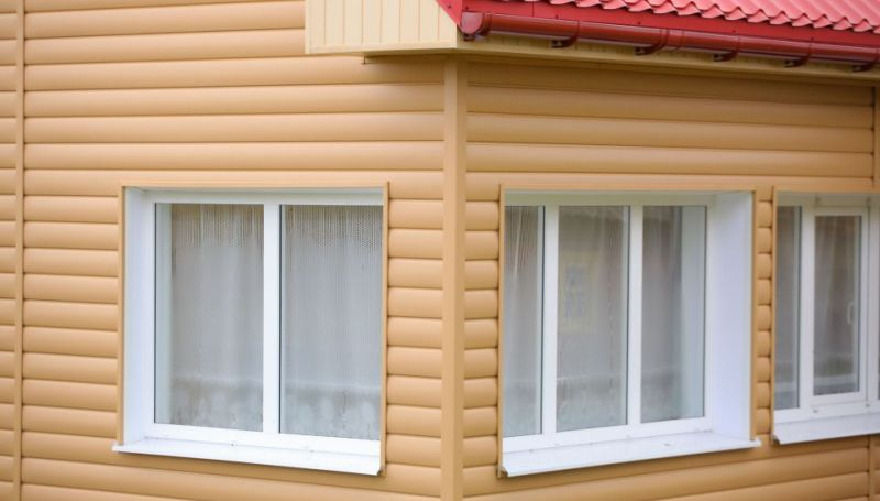 Обшивка дома блок хаусом