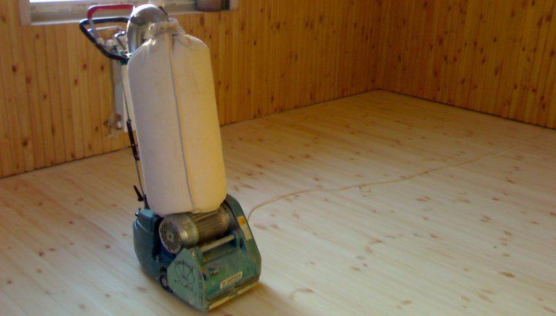 Циклевка деревянного пола
