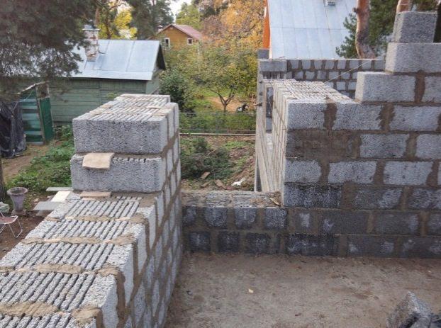 Фундамент для керамзитобетонного дома своими руками 313