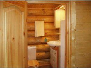 Расположение ванной в доме