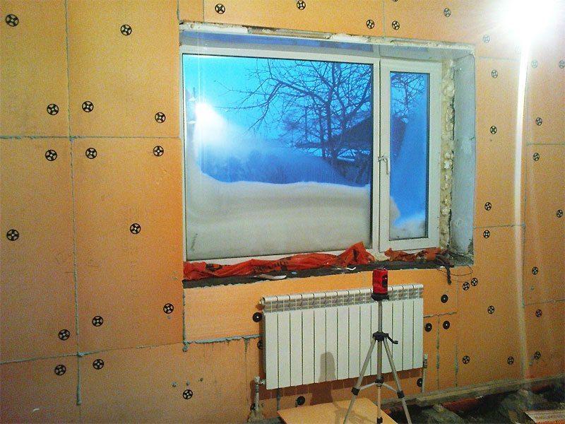 Утепление стены в квартире изнутри своими руками
