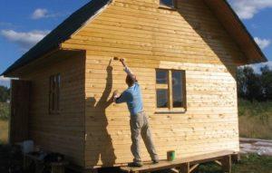 Облицовка домов из дерева снаружи