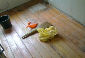 Как стелить листы фанеры на деревянный пол