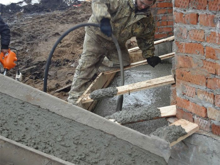 этих выкопать по углам конструкция залить бетон базе недвижимости бесплатных