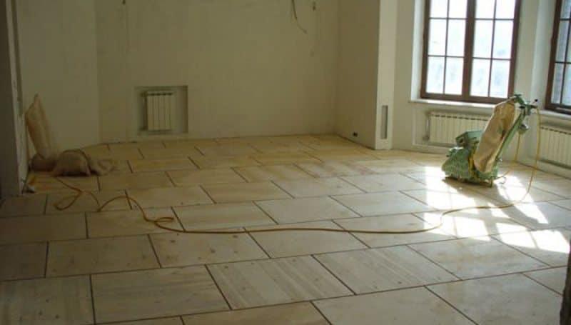 Правильная укладка фанеры на деревянный пол под линолеум