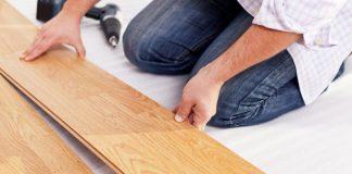 Укладка ламината на неровный деревянный пол своими руками