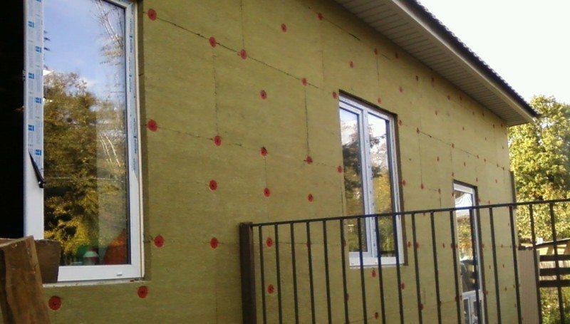 Утепление деревянного дома минватой под сайдинг снаружи