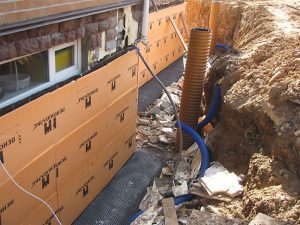 Монтаж утеплителя поверх гидроизоляции