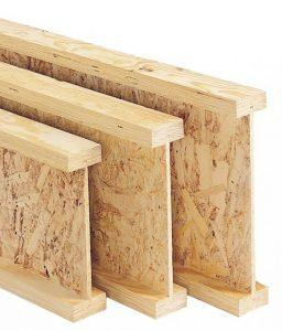 Преимущества деревянных балок двутавровых