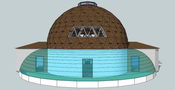 Схема купольного строения