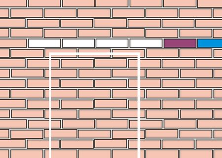 Разметка стены
