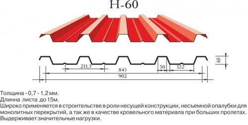 Профиль H-60