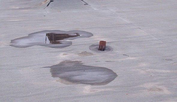 Протечка крыши