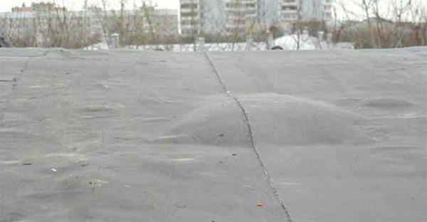 Пузырь на поверхности крыши