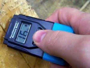 Прибор для измерения влажности древесины - игольчатый влагомер