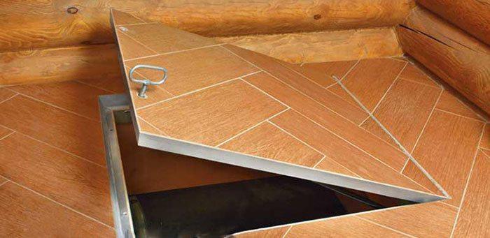 Декоративная отделка крышки люка