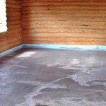 Стяжка пола на деревянный пол