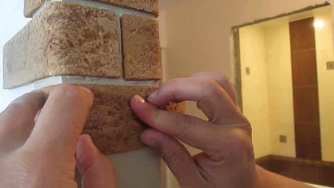 Гибкий камень для внутренней отделки
