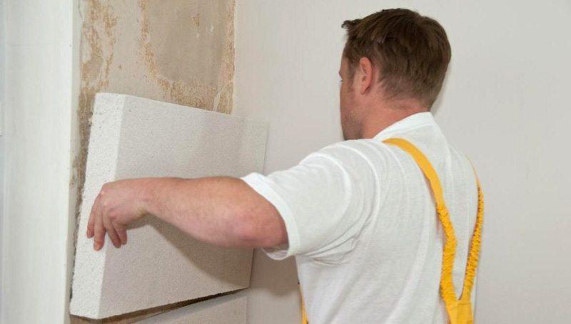 Пенопласт для стен дома