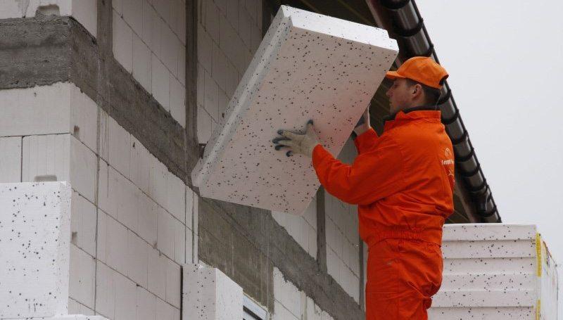 Утепление стен дома пенопластом под сайдинг