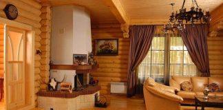 Отделка интерьера деревянного дома