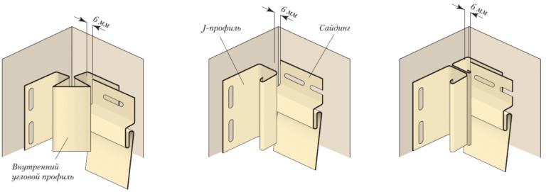 Как сделать внутренний угол для сайдинга