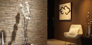 Декоративная отделка стен интерьера