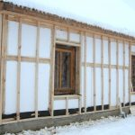 Утепление деревянных стен пенопластом