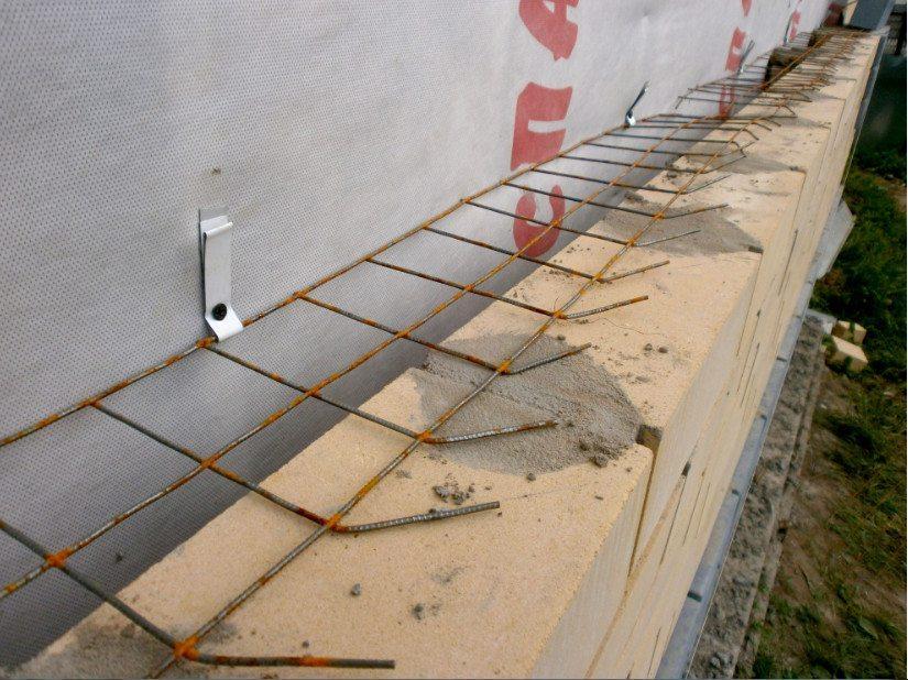 Крепление облицивочного кирпича к деревянной стене
