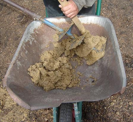 Исследование грунта с лопастей ручного бура