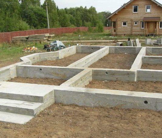 Фундамент дома своими руками