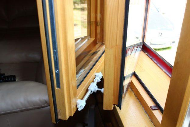 Финское дерево-алюминиевое окно