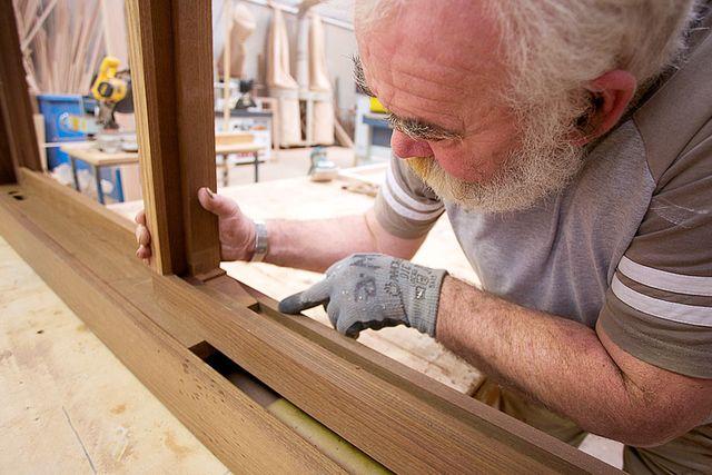 Производство деревянной рамы