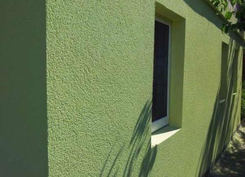 Декоративная фасадная штукатурка короед