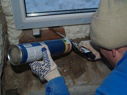 Замена пластиковых окон зимой