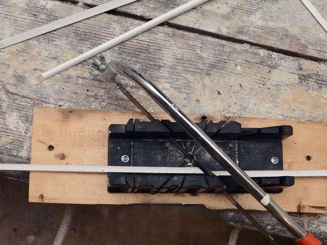 Нарезка деревянных штапиков для окон
