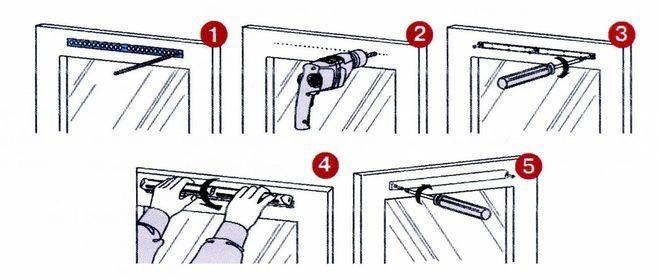 Принцип установки вентклапана на окно
