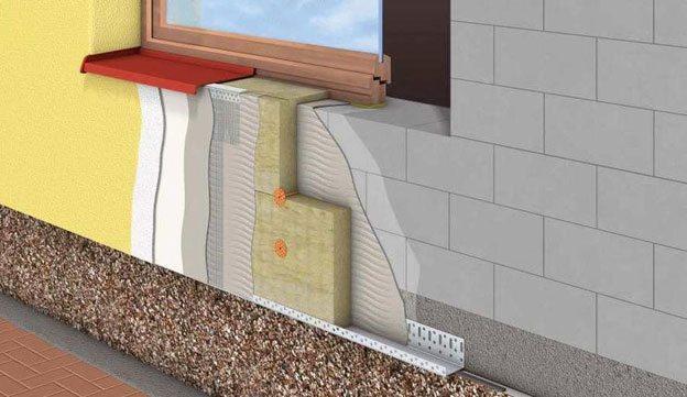 Отделка и утепление фасада дома