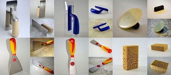 Инструменты для работы со шпаклевкой