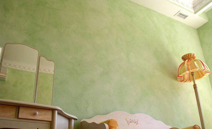 Отделка шпаклевкой детской комнаты
